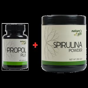 Buy Propol Plus + Spirulina Powder [Promo]