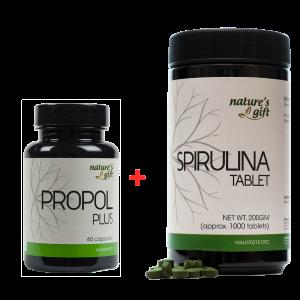Buy Propol Plus + Spirulina Tablets [Promo]