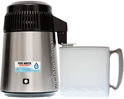 Buy Pure Water Distiller (with PP bottle)
