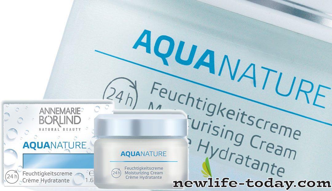 Aquanature 24H Moisturizing Cream