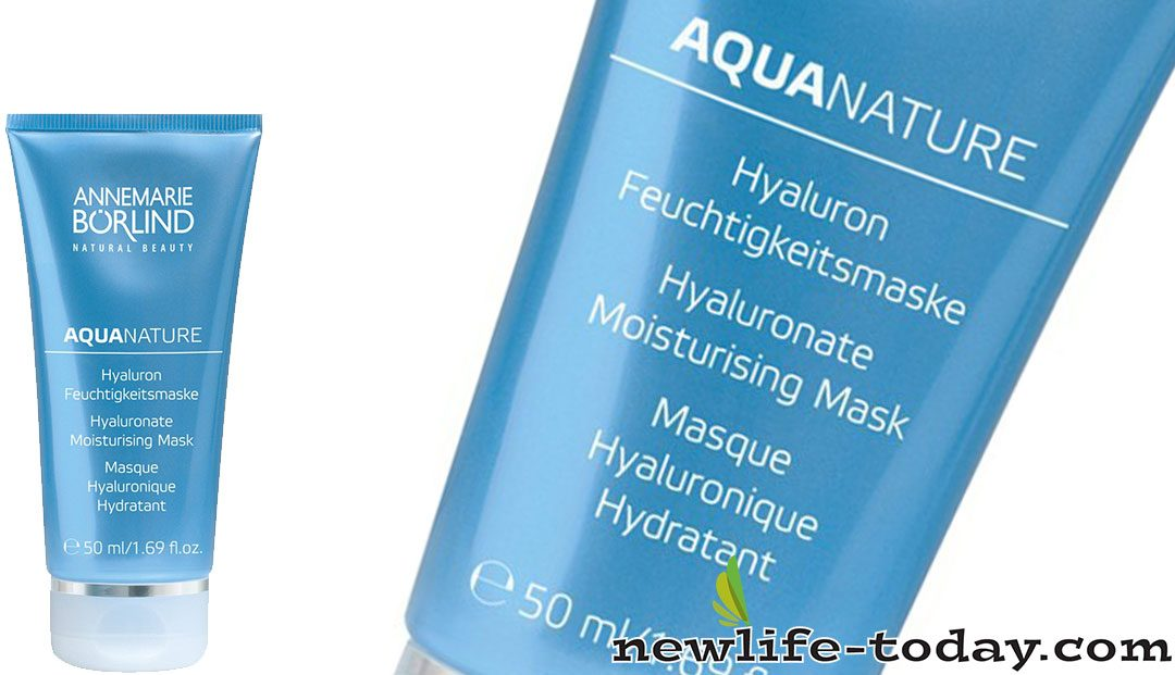 Aquanature Hyaluronate Moisturising Mask