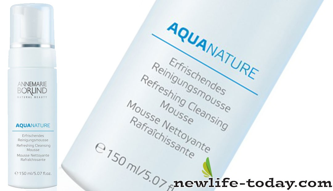 Aloe Barbadensis Leaf Juice found in Aquanature Refreshing Cleansing Mousse