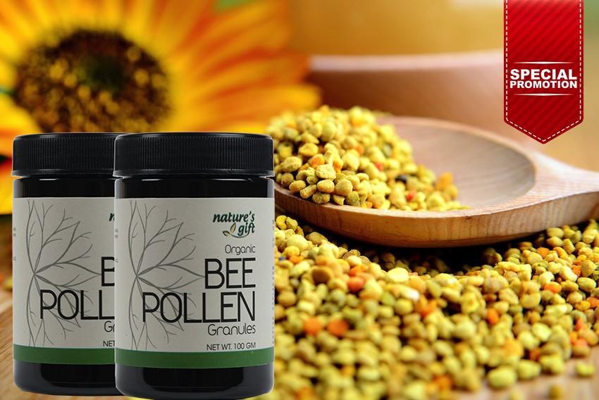 Pure Organic Bee Pollen Granules found in Bee Pollen Granules [Promo]