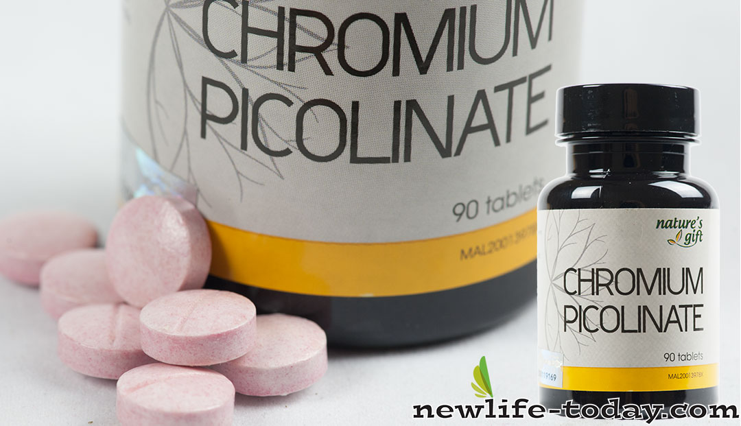 Picolinate found in Chromium Picolinate