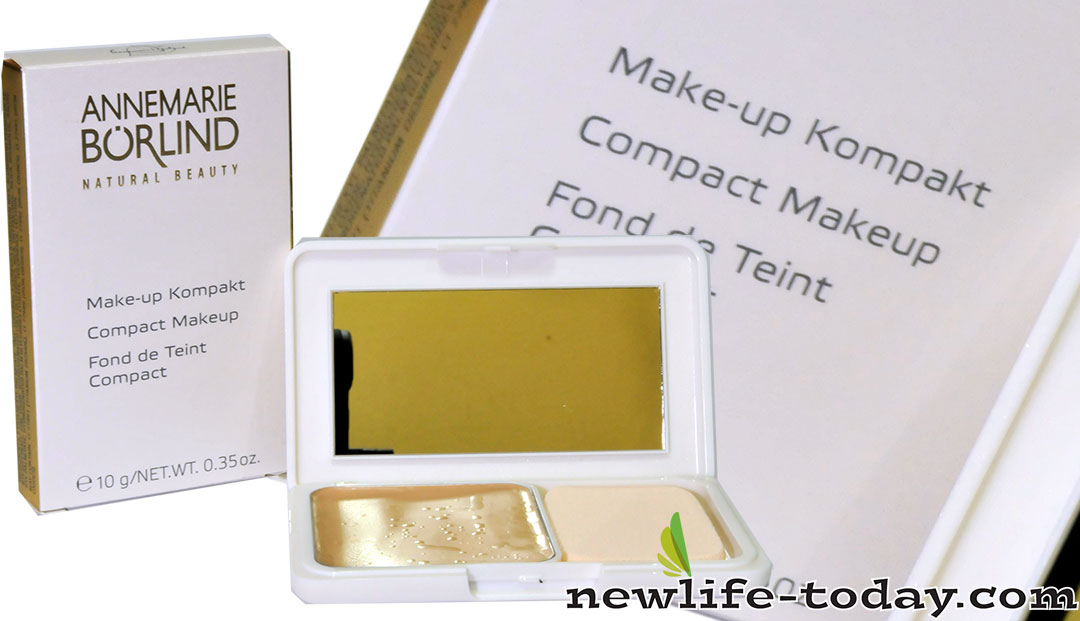 Zinc found in Compact Makeup Natural