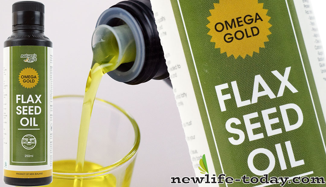 Flax Seed Oil found in Flaxseed Oil Omega Gold