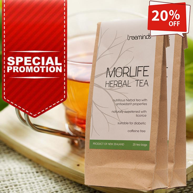 Red Clover found in Herbal Tea Morlife [Promo]