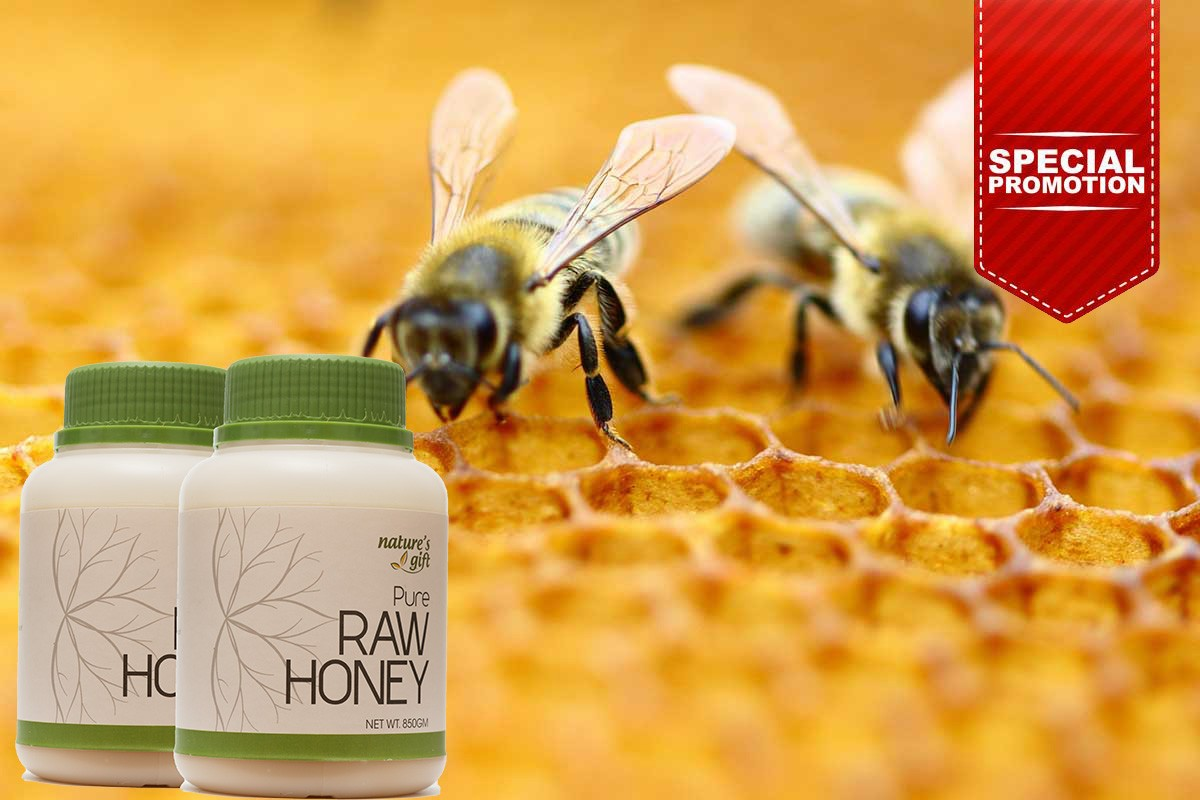 Pure Raw Honey found in Honey (850gm) [Promo]