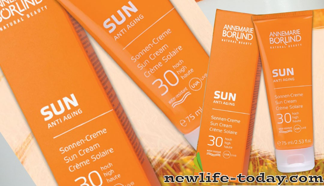 Glycerin found in Sun Anti-Aging Cream SPF 30