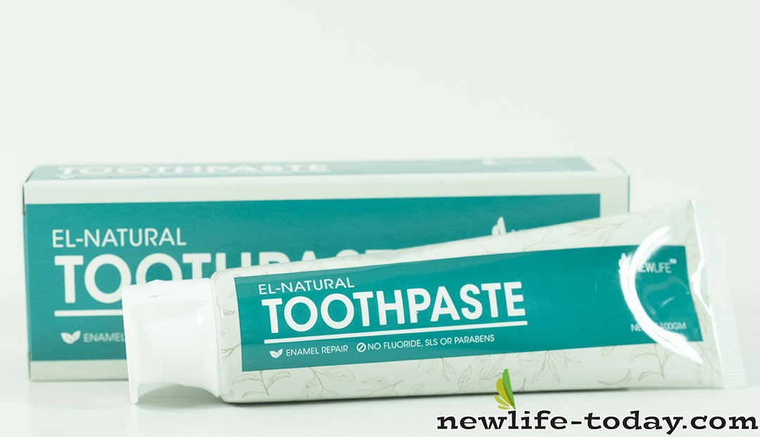 Carbonate found in Toothpaste El-Natural