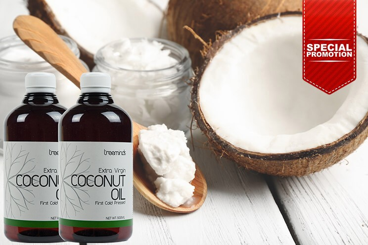 Coconut Oil Organic Extra Virgin [Promo]