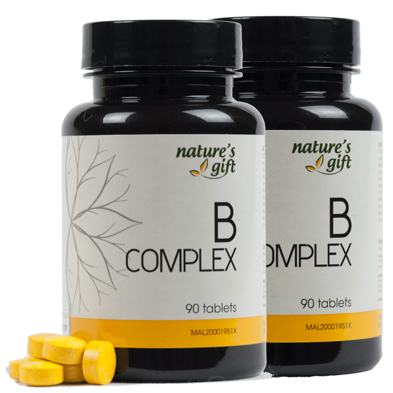 Calcium found in Vitamin B Complex [Promo]