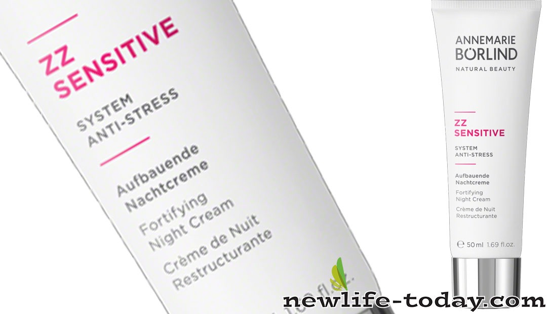 Zinc found in ZZ Sensitive Night Cream Fortifying