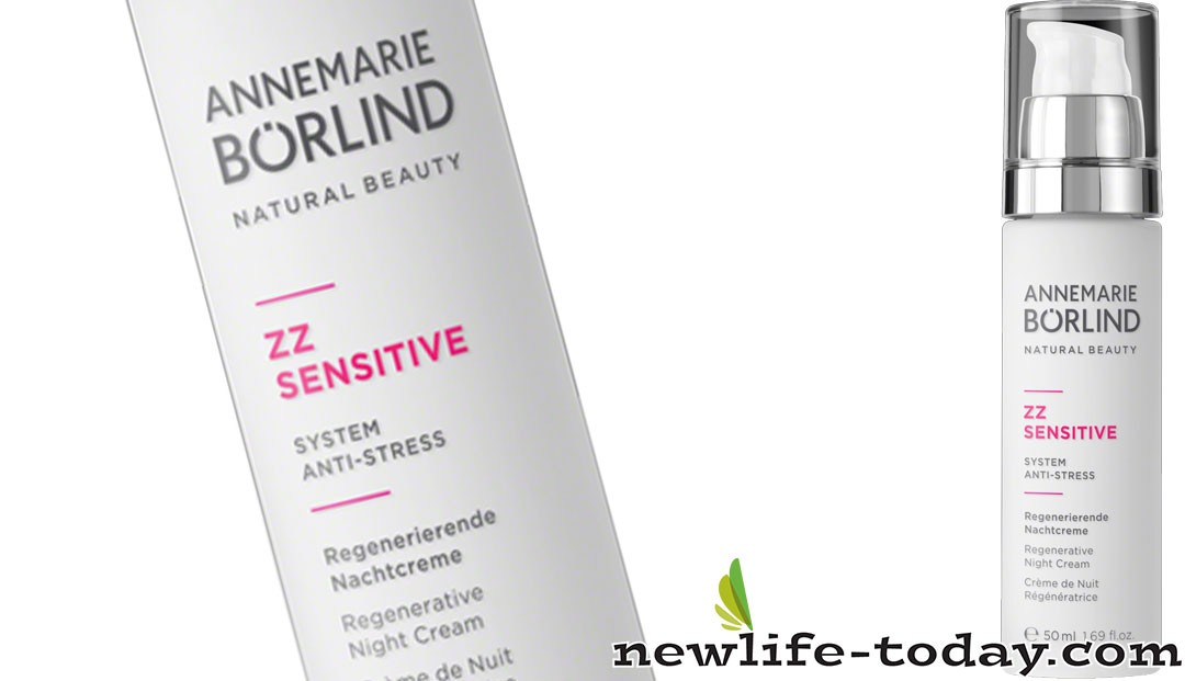 Zinc found in ZZ Sensitive Night Cream Regenerative